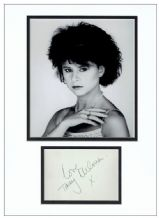 Tracey Ullman Autograph Signed Display